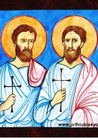 Սբ. վկաներ Ադրիանոս և Եվբուլոս Վանեցիներ