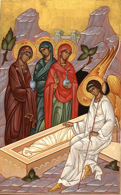 Յուղաբեր կանայք` Քրիստոսի Հարության առաջին վկաները